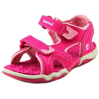 Timberland Adventure Seeker 2-Strap Toddler Open-Toe Synthetic Pink Sport Sandal