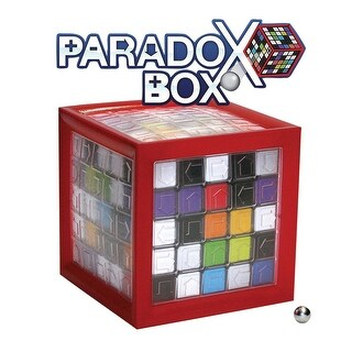 Children's Fat Brain Toys Paradox Box Marble Maze Game - multi