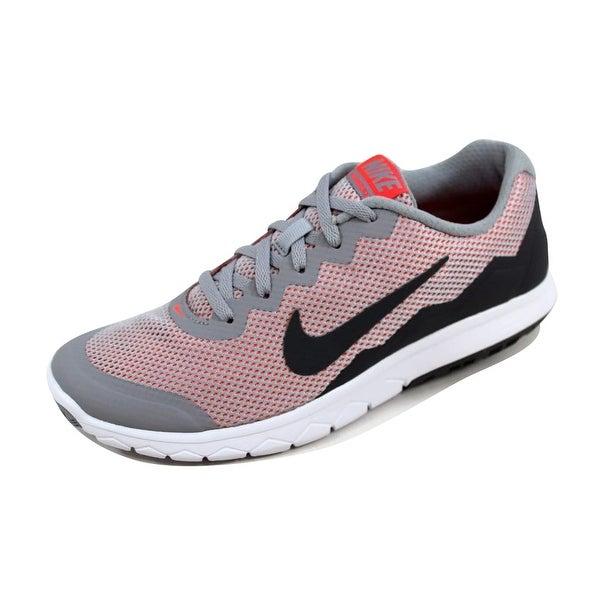 Nike Women's Flex Experience Run 4 Wolf Grey/Dark Grey-Hot Lava 749178-009 Size 7.5