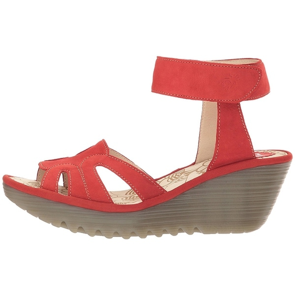 Fly Loundon Womens YASA750FLY Open Toe Casual Platform Sandals