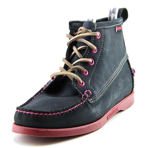 Sebago Beacon Women  Moc Toe Suede  Ankle Boot
