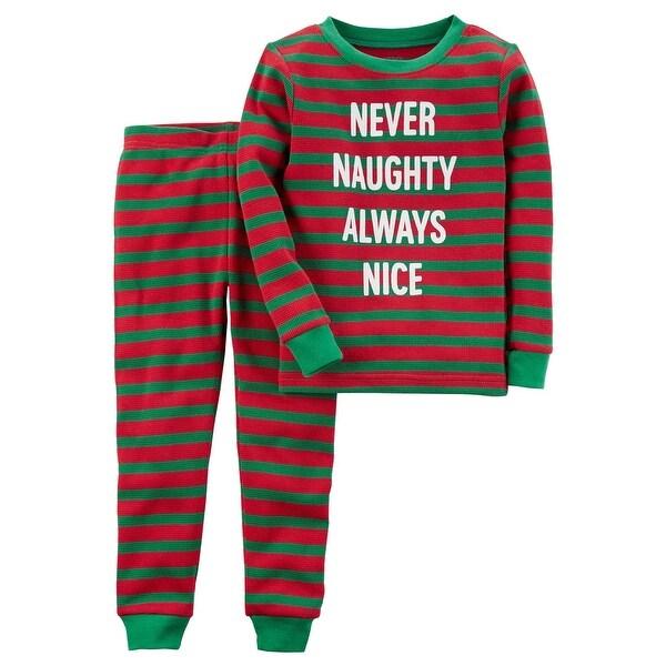 f9680e772765 Shop Carter s Little Boys  2-Piece Christmas Snug Fit Cotton PJs