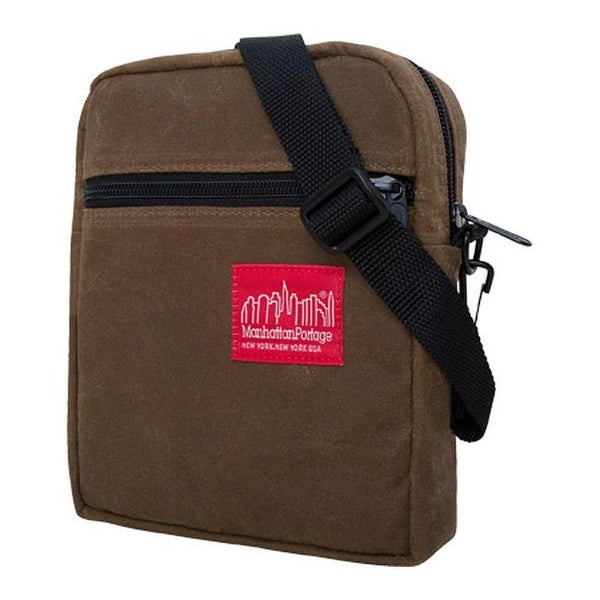 0c31941efd Shop Manhattan Portage Waxed Canvas City Lights (Small) Field Tan - US One  Size (Size None) - Free Shipping Today - Overstock - 11792482