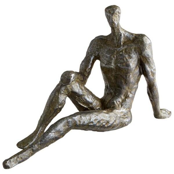 Cyan Design Bevan Sculpture Bevan 6 Inch High Iron Statue