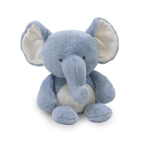 Shop Lambs Ivy Signature Elephant Tales Blue Plush Elephant