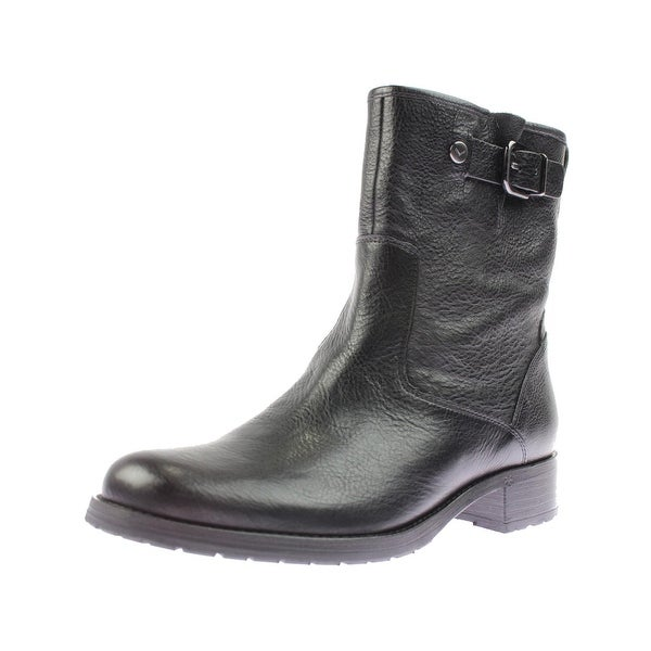 Via Spiga Womens Kiana Ankle Boots Buckle