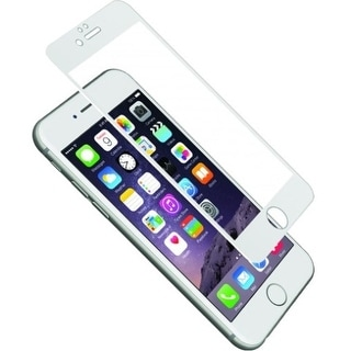 Cygnett CY1733CPTGL Cygnett AeroCurve Tempered Glass Aluminium Border iPhone 6 Plus - White White, Clear - iPhone