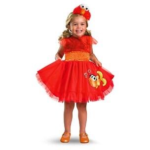 Girls Sesame Street Elmo Dress Infant/Toddler Costume