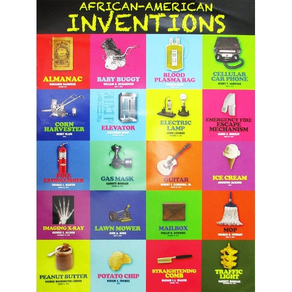 African American Inventors Poster (Color) - Multi-Color