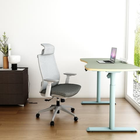 Ergonomic Office Back Mesh Chair with Adjustable Armrests