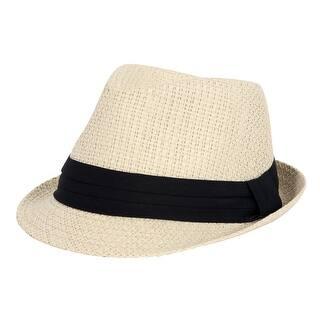 6f5b010c4d3 Faddism Fashion Fedora Straw Hat · Quick View