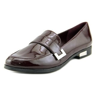 Marc Fisher Pagan Women Apron Toe Synthetic Loafer