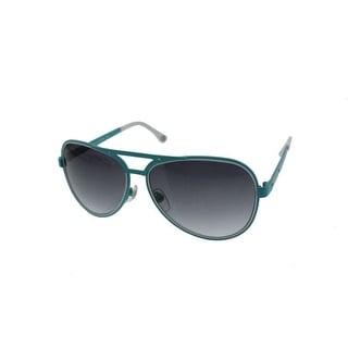 Michael Kors Womens Peyton Mirrored Designer Aviator Sunglasses - o/s