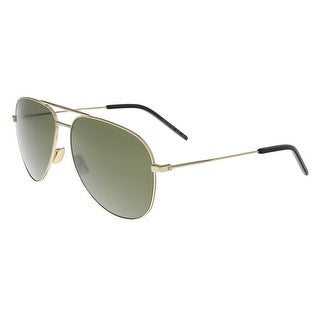 Saint Laurent SL CLASSIC 11-008 Gold Aviator Sunglasses