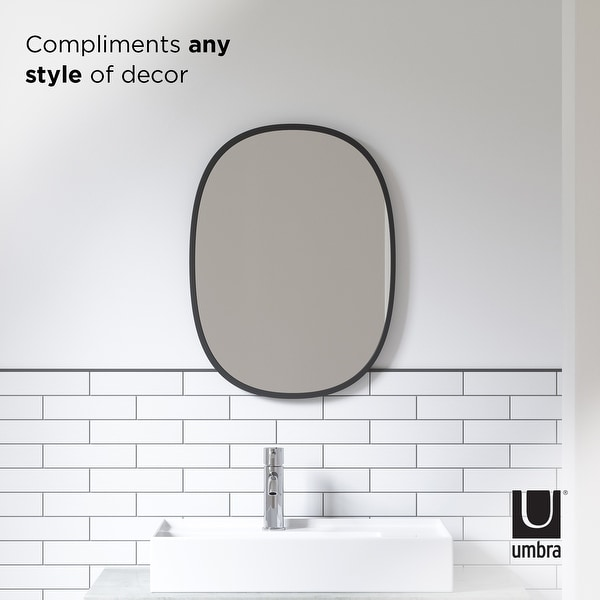 Umbra HUB OVAL Wall Mirror. Opens flyout.