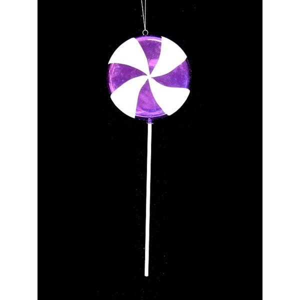 "Huge Candy Fantasy Purple Grape Swirl Lollipop Christmas Ornament Decoration 40"""
