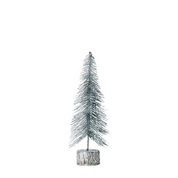 Small Silver Glitter Tree