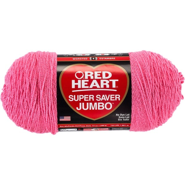 Shop Red Heart Super Saver Yarn Perfect Pink Free Shipping On
