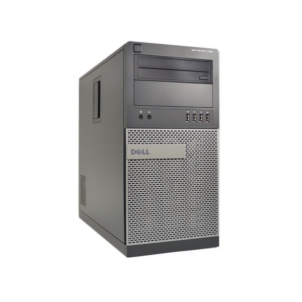 Dell OptiPlex 790-T 3.3GHz Core i5 8GB RAM 1TB HDD Windows 10 Computer (Refurbished)