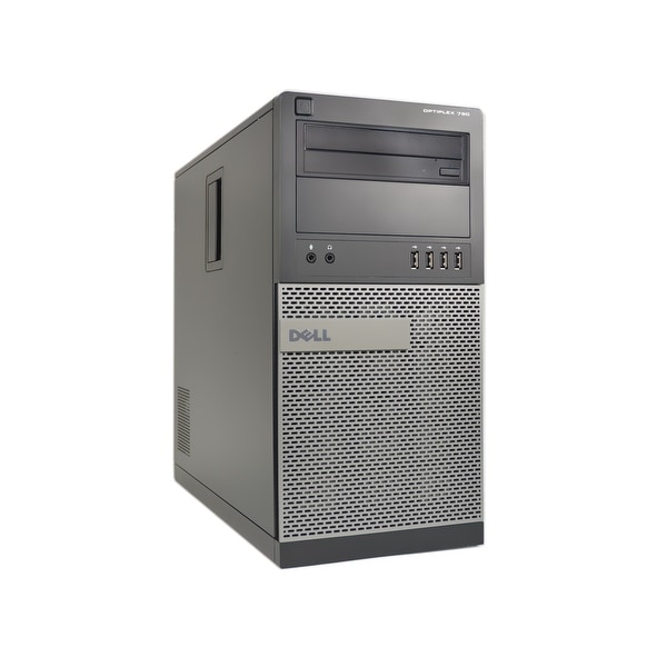 Dell OptiPlex 790-T Core i5-2400 3.1GHz 2nd Gen CPU 4GB RAM 250GB HDD Windows 10 Pro Computer (Refurbished)