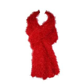 CTM® Women's Magic Scarf Knit Hood Wrap Scarf - One Size