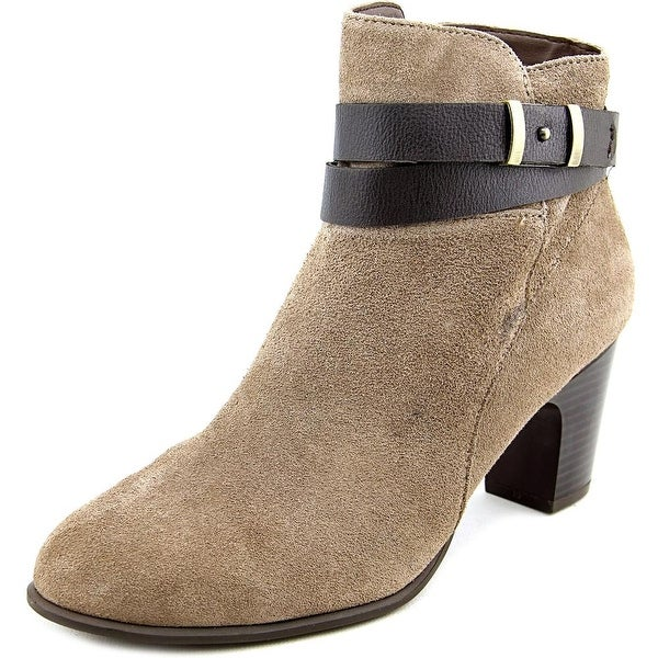 Giani Bernini Calae Women Dk Taupe/Ebony Boots