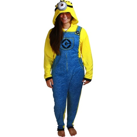 Despicable Me 2 Minion Adult Cosplay Union Suit