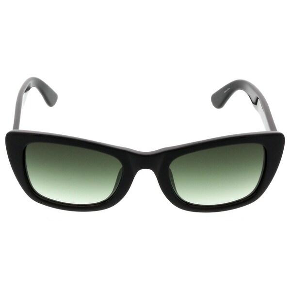 Just Cavalli JC 491S/S 01P Black Rectangle Sunglasses - 52-21-140