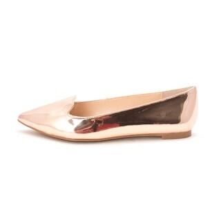 INC International Concepts Womens Aadi Pointed Toe Slide Flats