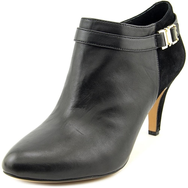 Vince Camuto Vanna Round Toe Leather Bootie