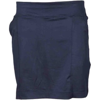 Page & Tuttle Womens Knit Pull On Skort  Casual Shorts Skort