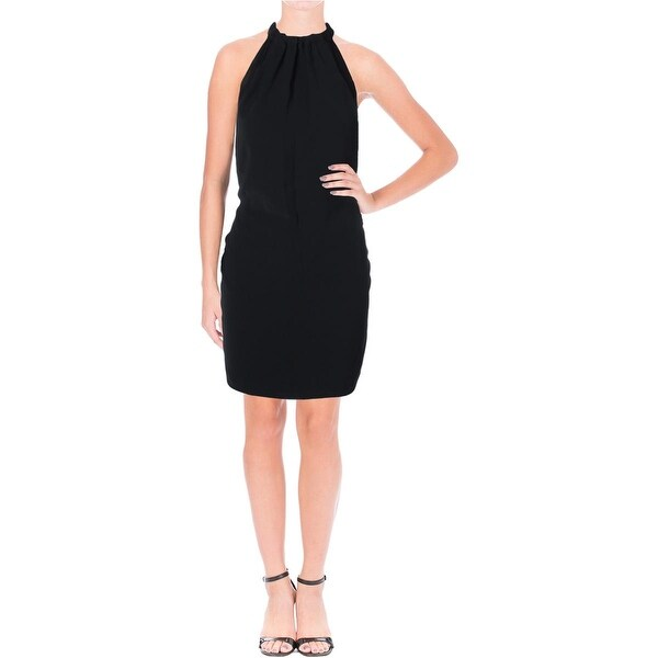 Zara Basic Womens Cocktail Dress Halter Party