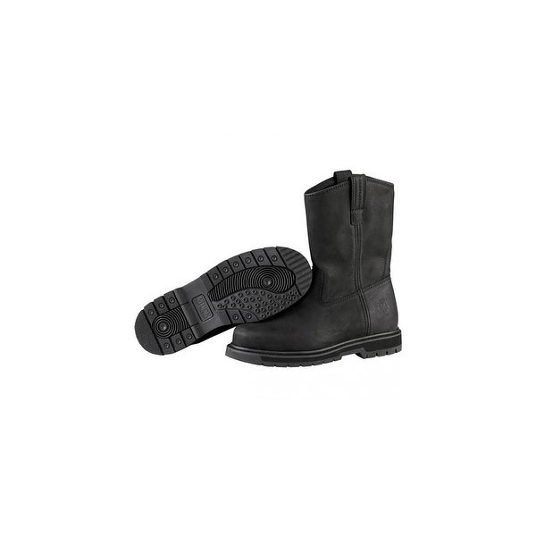 Muck Boots Black Wellie Men's Work Boot w/ Airmesh Ultra Lining - Size 10.5