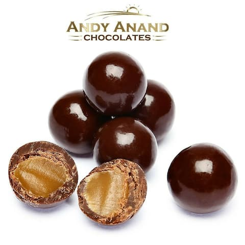 Andy Anand Chocolate Peanut Butter Toffee Box (1 lbs)