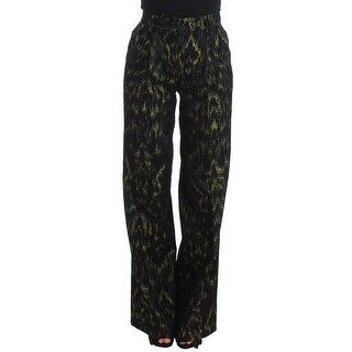 Galliano Galliano Black wide legs dress pants - it40-s