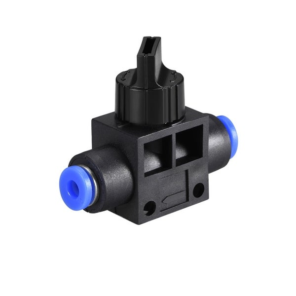 "Air Flow Control Valve Connect Fitting, 5/32"" OD Hand Valve Speed Controller"