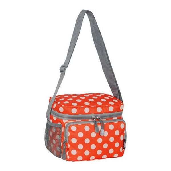 38466c1ad1 Shop Everest Cooler Lunch Bag (Set of 2) Orange White Dot - US One Size  (Size None) - Free Shipping On Orders Over  45 - Overstock - 25691367