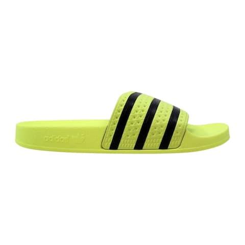Adidas Adilette Ice Yellow/Core Black CM8494 Women's