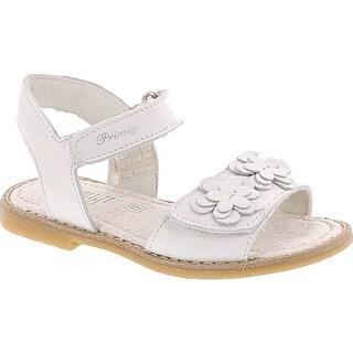 Primigi Girls 7097 Leather Fashion Sandals - White