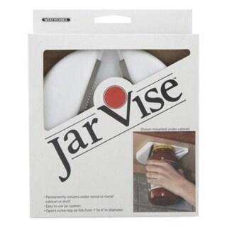 HIC JV-1 Kitchen Jar Vise, Plastic, White