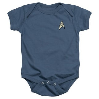 Star Trek Unisex Uniform Infant Snapsuit
