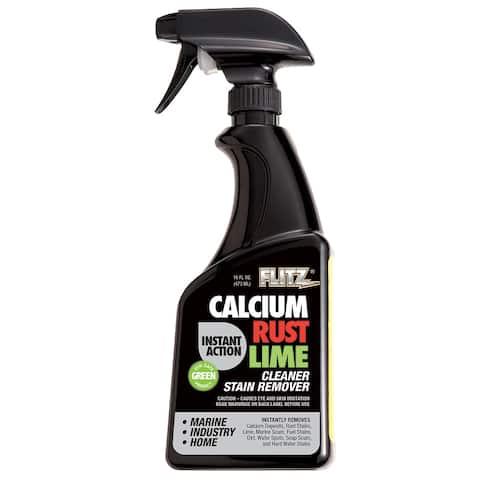 Flitz Instant Calcium, Rust & Lime Remover - 16oz Spray Bottle