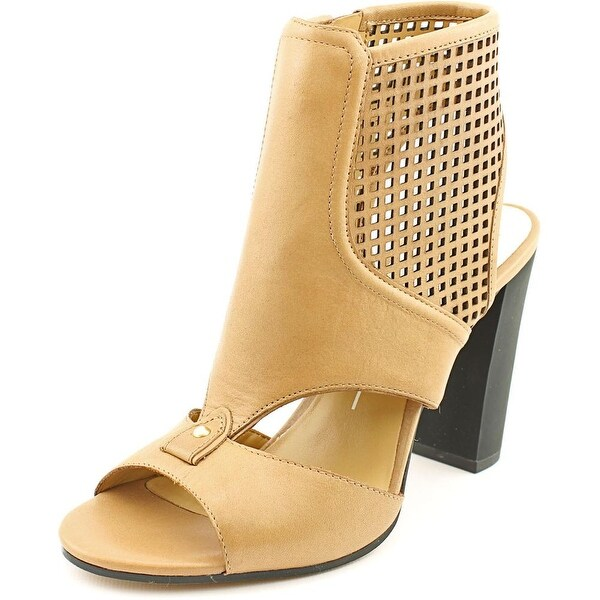Dolce Vita Nona Womens Caramel Sandals