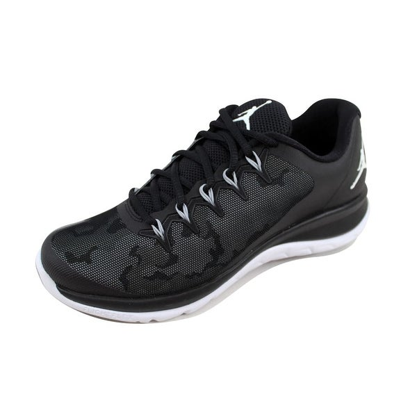 744b83eac0e Shop Nike Men s Air Jordan Flight Runner 2 Black Wolf Grey-White ...