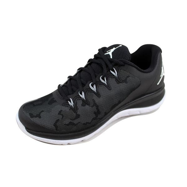 gris Refinamiento cocina  Shop Nike Men's Air Jordan Flight Runner 2 Black/Wolf Grey-White 715572-005  - Overstock - 22340164