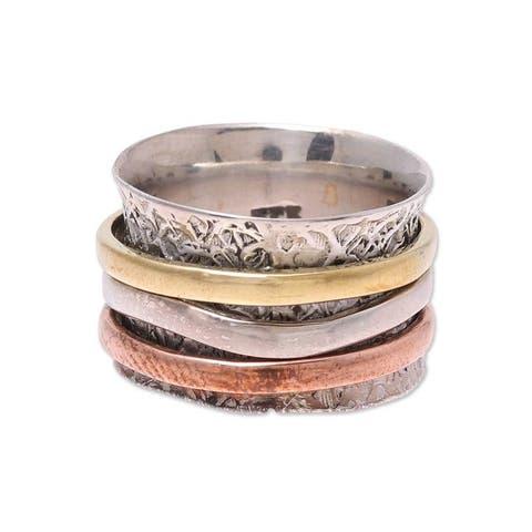 NOVICA copper, Sterling silver