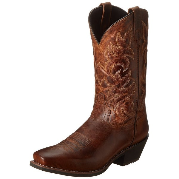 Laredo Men's Breakout Western Boot, Rust, 13 D Us