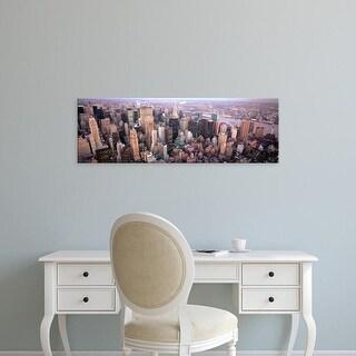 Easy Art Prints Panoramic Images's 'New York NY USA' Premium Canvas Art