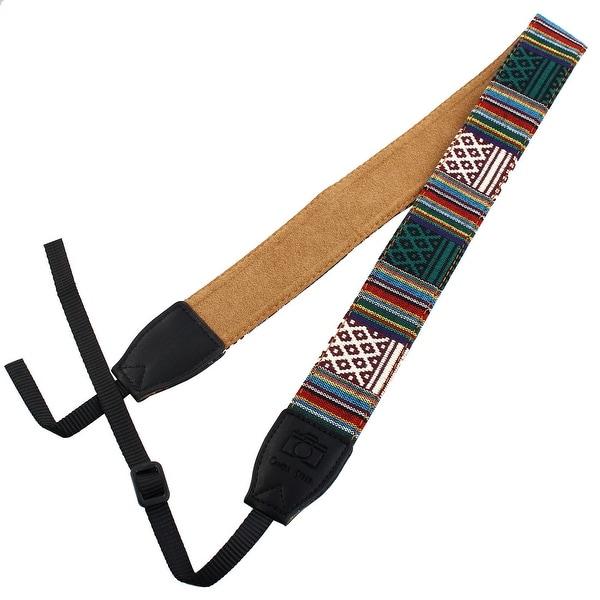 SHETU Authorized Universal Ethnic Customs Camera Shoulder Neck Strap #2 for DSLR