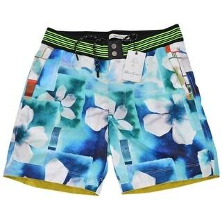 Robert Graham Classic Fit FLORAL PARADISE Board Shorts Swim Trunks
